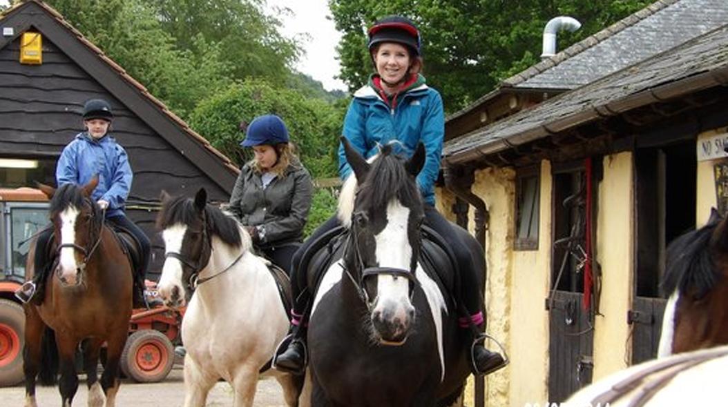 Burrowhayes farm riding