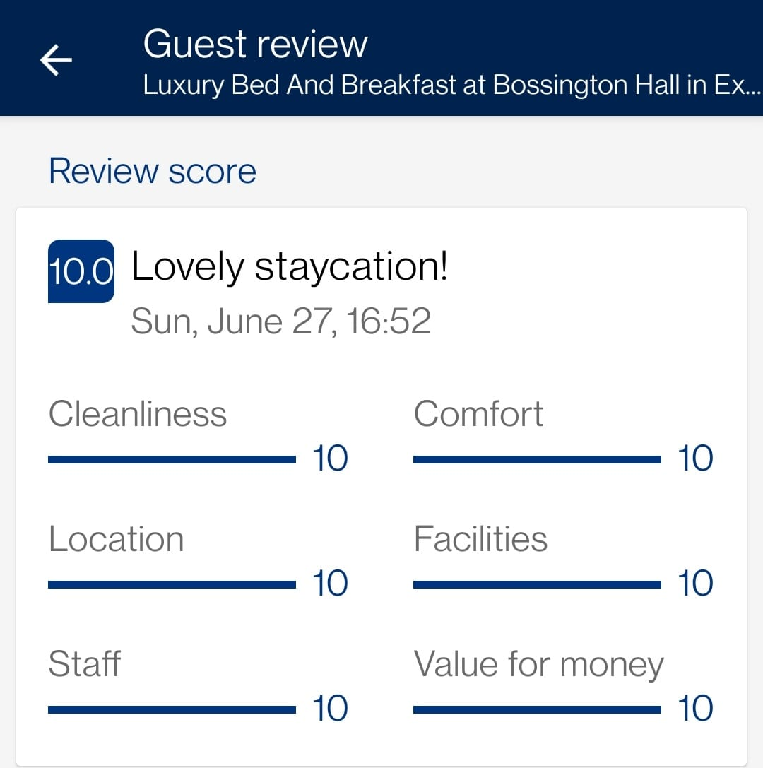 Staycation Review